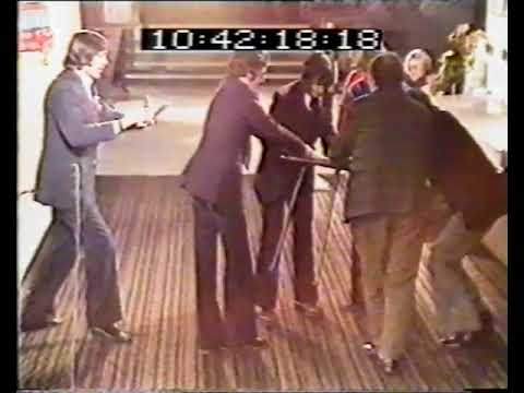 Levitating Table on live daytime British TV Pebble Mill At One 1972