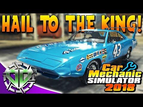 Car Mechanic Simulator 2018 : Dodge Daytona Restoration! Richard Petty Custom Livery! (PC)