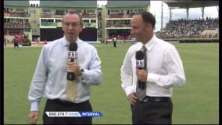 David Lloyd finds himself on the receiving end of a practical joke