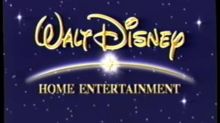 Walt Disney Home Entertainment (2001) Company Logo (VHS Capture)