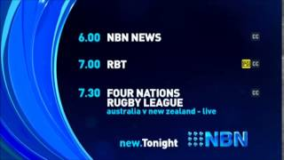 NBN Television - Lineup #1 (25/10/2014)