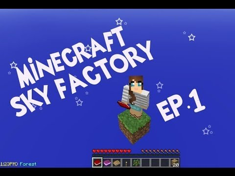 Minecraft Sky Factory - Let's Play Part 1
