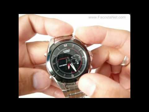 c42f3bb24fd9 Casio EFA 119 FACOSTANET.avi - YouTube