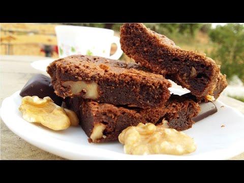 recette-des-brownies-moelleux-/-fudgy-brownies-recipe