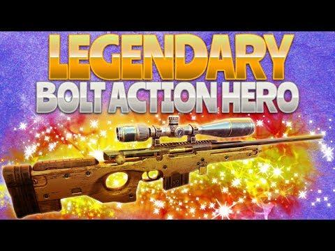 LEGENDARY BOLT ACTION HERO (Fortnite Battle Royale)
