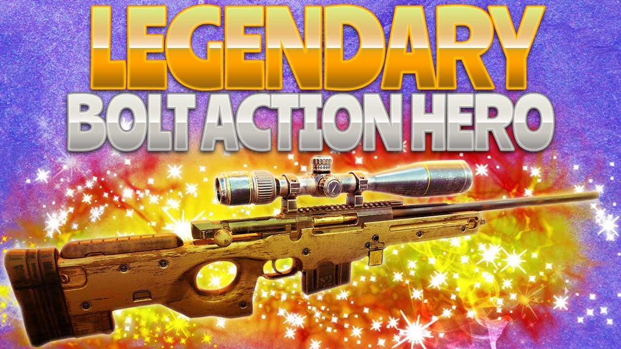 LEGENDARY BOLT ACTION HERO (Fortnite Battle Royale ...