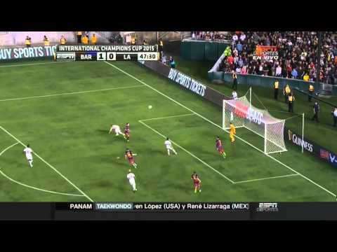 FC Barcelona vs LA Galaxy 2-1 Partido Completo Luis Suarez vs Steven Gerrard