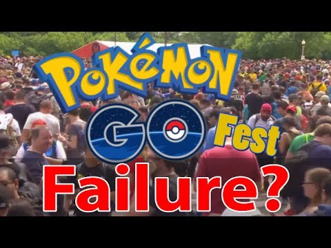 Are You Surprised About What Happened At The Pokemon Go Fest?