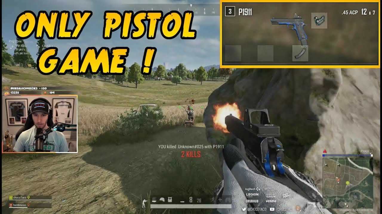 "CHOCOTACO DUOS ONLY PISTOL ""P1911"" 