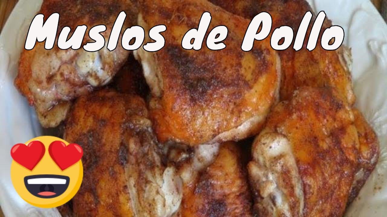 Muslos de pollo al horno con especias the frugal chef - Como cocinar las setas ...