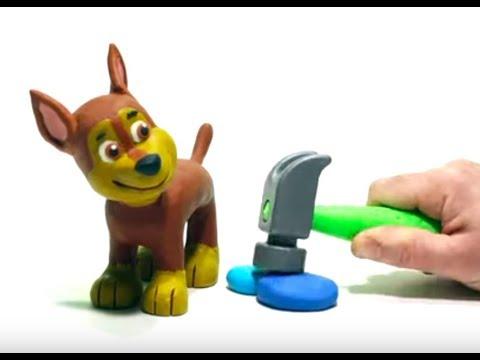 PATRULLA CANINA PLAY DOH Dibujos Animados para niños y bebés!!! 💚dibusYmas