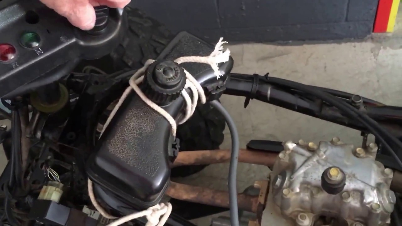New Carb On My Honda Recon Youtube