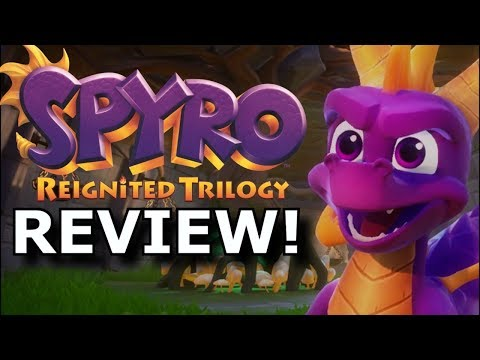 Spyro Reignited Trilogy Review! Still FUN In 2018? (Ps4/Xbox One)