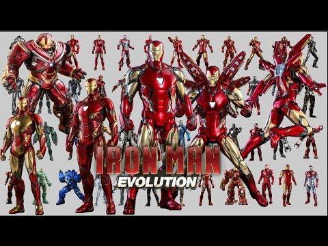 IRON MAN EVOLUTION ( UPDATE MARK 85 SUIT THE AVENGER ENDGAME 2019) | LOOKER