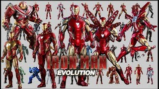 IRON MAN EVOLUTION ( UPDATE MARK 85 SUIT THE AVENGER ENDGAME 2019) | LOOKER