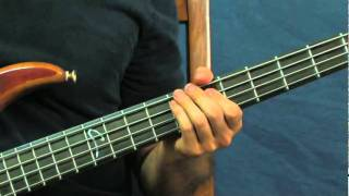 easy bass guitar lesson back on the chain gang the pretenders
