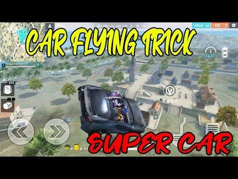 CAR FLYING TRICKS - GARENA FREEFIRE CAR FLYING BUGS IN TELUGU - TELUGU GAMING ZONE