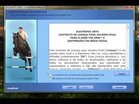 instalando the sims 3 pets + crack (Daemon tools)