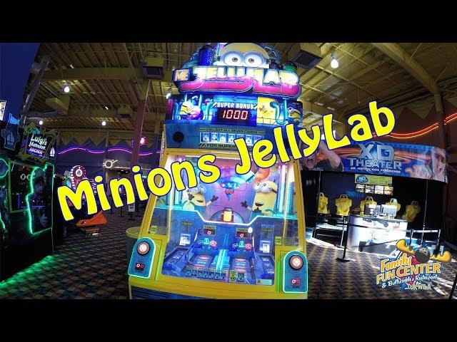 Minions Jelly Lab Arcade Game - Tukwila Family Fun Center