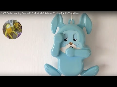 Early Learning Centre ELC Musical Children's Moving Rabbit 1988 Toy Video