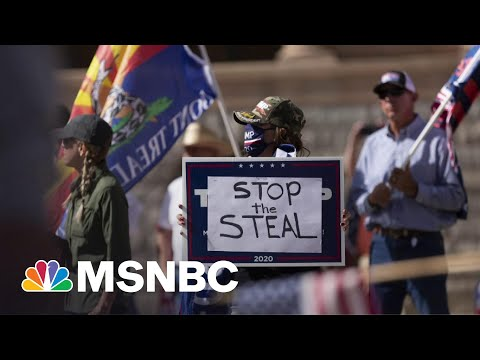 Arizona Republicans Conduct Election 'Audit' Fueled By Trump's Big Lie | All In | MSNBC
