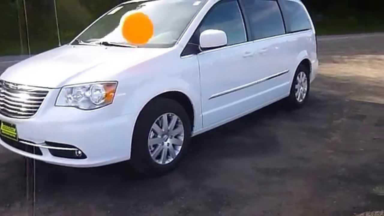 2015 Chrysler Town Country Touring Van Lwb Passenger Van