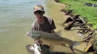 Carp Fishing at Lake Austin: EURO Style