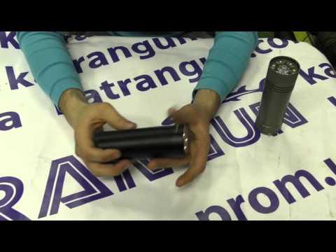 Тест подводных фонарей с теплым и холодным светом - YouTube