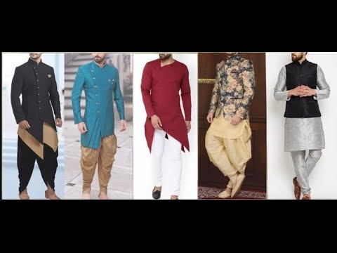bf30fff3bb Top Kurta pajama designs for men|| latest designs of 2019 by Trending arena