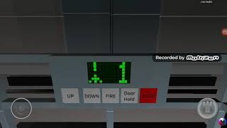 Roblox Surfing the K.W. Elevator at the Newland Garden Arena Newland City