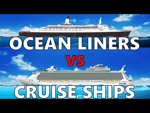 The Difference Between Ocean Liners and Cruise Ships (REVISED)