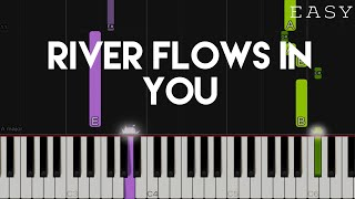 River Flows In You - Yiruma | EASY Piano Tutorial