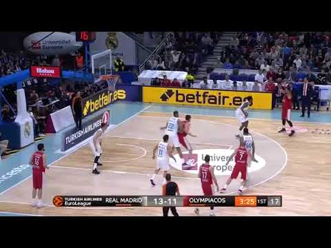 Real Madrid-Olympiakos (79-80): Georgios Printezis 21 pts |