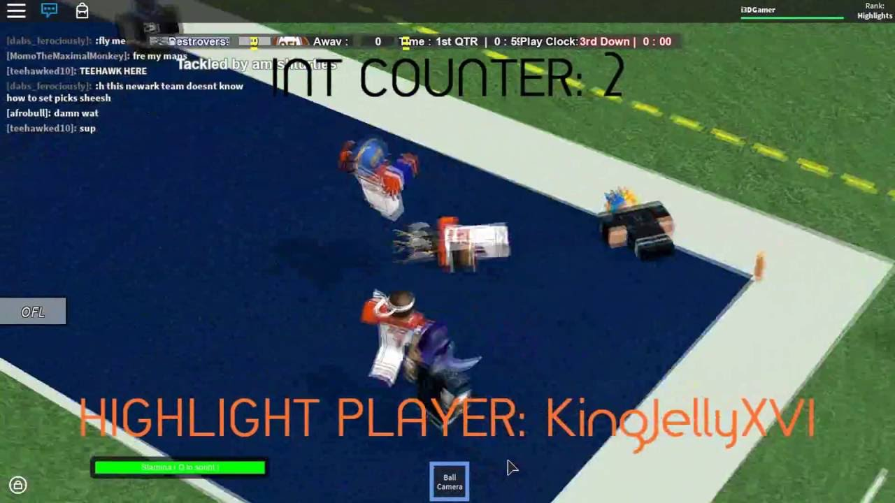 Roblox Ofl Highlights Roblox Warriors At Newark Destroyers S11 W3 - roblox ofl