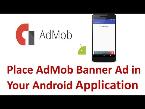 AdMob Android tutorial - Placing Banner Ads