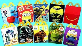 HAPPY MEAL TOYS SURPRISE from McDonalds for Kids