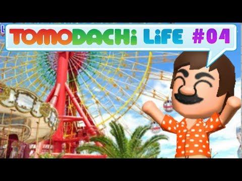 "Tomodachi Life :: 04 - ""Leisure Island"" Theme Park!"