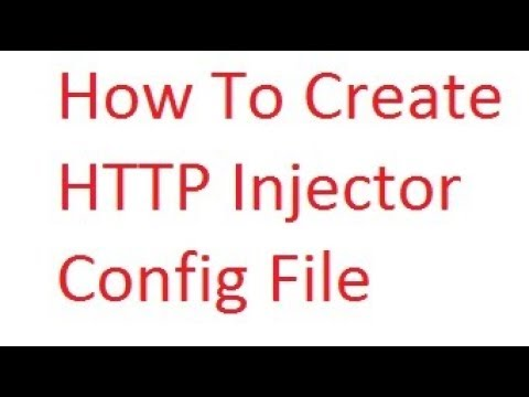 How to create HTTP Injector Config