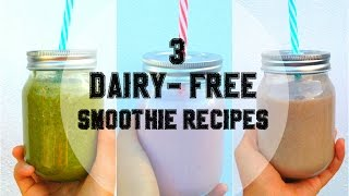 3 Healthy Smoothie Recipes | Vegan