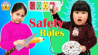 Kids Learn SAFETY at Home | ToyStars
