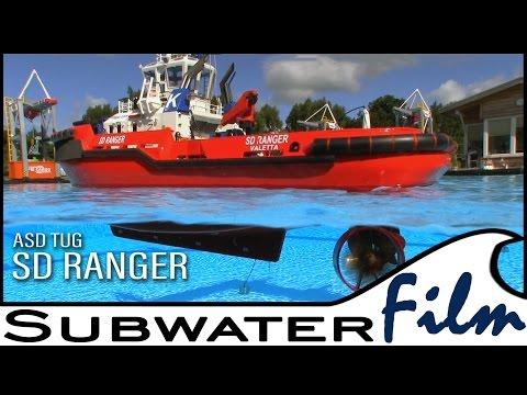 Power & Agility: RC SD RANGER an ASD-Tug  - Subwaterfilm