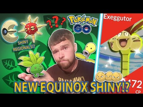 WHAT WILL THE EQUINOX EVENT SHINY BE IN POKEMON GO? ARE SHINY REGIONALS ON THE WAY!? thumbnail