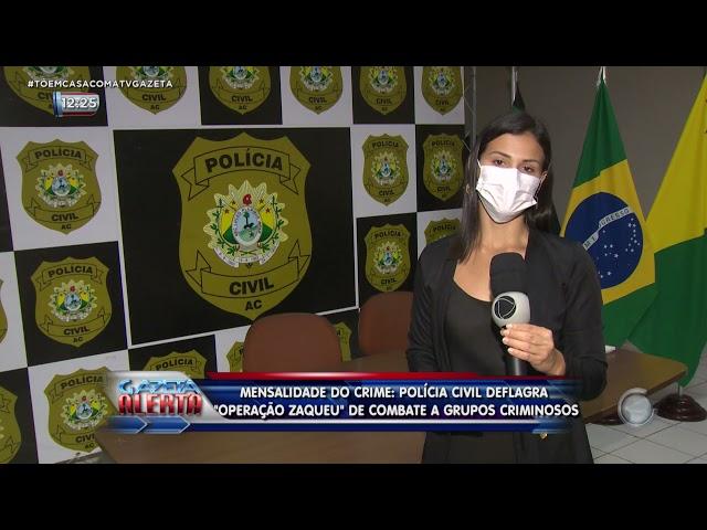 MENSALIDADE DO CRIME: POLÍCIA CIVIL DEFLAGRA