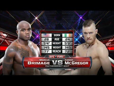 Первый бой Конора МакГрегора в UFC