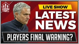 Mourinho's Showdown With Manchester United Players