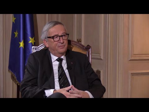 """Jean-Claude Juncker : """"Nous entretenons des relations difficiles avec l'administration Trump"""""""