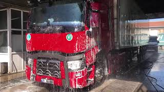 DİRTY TRUCK changes colors with preaasure washer ! How to clean truck ? satisfing ASMR