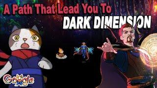 Google Doodle Champion Island Dark Dimension Glitch