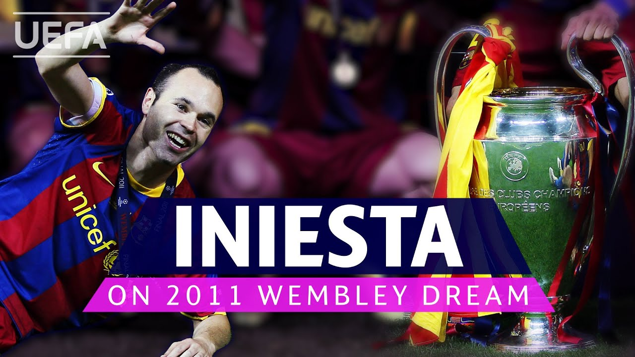 #UCL, BARCELONA, MAN. UNITED: Iniesta relives emotional 2011 final