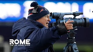 The Pats are caught filming... AGIAN!? | The Jim Rome Show